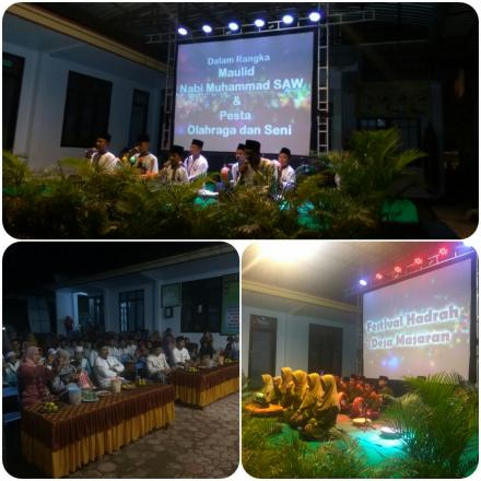 Festival Hadrah Desa Masaran Berlangsung dengan Meriah.